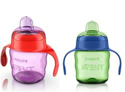 Philips Avent Easy Sip Spout Cup 7oz - Assorted Pack