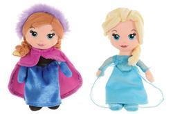 Frozen Cute Elsa & Anna Dolls