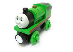 Percy Small Wooden Railway Engine