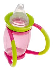 Brother Max 4-in-1 Trainer Cup - Pink/Green