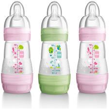 MAM Anti-Colic Bottle 160ml - 3pk - Pink