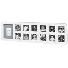 Baby Art First Year Print Frame White