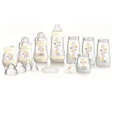 MAM Anti Colic Bottle Starter Set - White