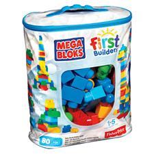 Mega Bloks Big Building Bag 80pcs Bag