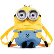 Despicable Minions Plush Backpack