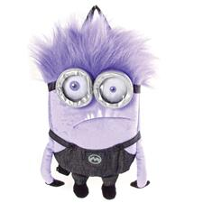 Despicable Me Purple Minion Plush Backpack