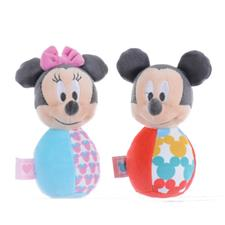 Mickey & Minnie Mouse Overlap Collection Skittle Rattles