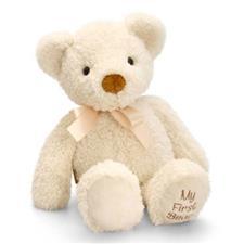 Keel Toys 'My First Bear' Cream 20cm