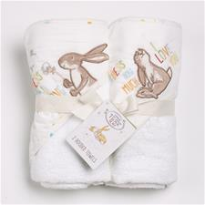 Guess How Much I Love You Hooded Towel Twin Pack