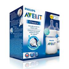 Philip Avent Classic+ 4oz Bottle Twin Pack