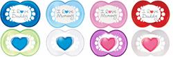 MAM Style (I Love) Soother Twin Pack - 2 Sizes