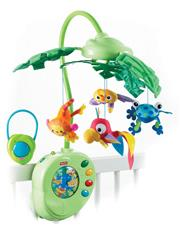 Fisher-Price Rainforest Mobile With Remote Control