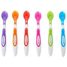 Munchkin Soft Tip Infant Spoons -6 pack