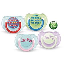 Philips Avent Silicone Fashion Soothers Twin Pack - 6-18 months