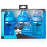 CTN Colour My World 260ml Bottles x3 - Blue