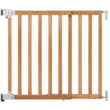 Safety First Wall Fixing Extending Natural Wood Gate