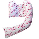 Dreamgenii Pregnancy Pillow COVER Oriental Pink