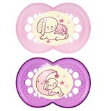 MAM Night Soother Pink - 6 months +
