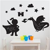 Magic Dragon Kingdom Chalkboard Room Kit
