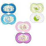 MAM Night Soother Twin Pack - 6 months+