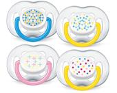 Philips Avent Free Flow Soother Twin Pack - 6-18 months