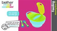 Brother Max Easy Hold Weaning Bowl Set
