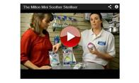 Milton Mini Soother Steriliser - 3 Colours