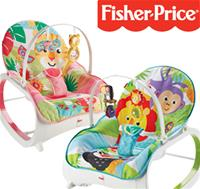 New Fisher-Price Infant to Toddler Rockers