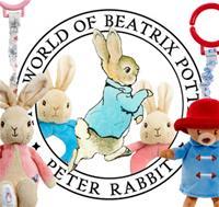 Peter Rabbit & Paddington Movie 2 Additional Nursery Plush
