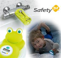 Safety First: Tap Protector, Digital Thermometer & Globe Trotter