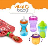 Vital Baby Ella's Weaning Spoon Tips & 4 NEW Toddler Cups