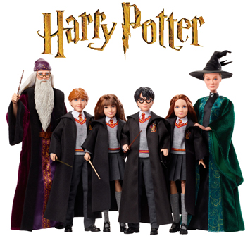 Harry Potter Dolls Now Available By Character