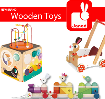 NEW Brand: Janod | Award Winning Range of Wooden Toys