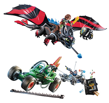 NEW Playmobil Playsets: How To Train Your Dragon and More!