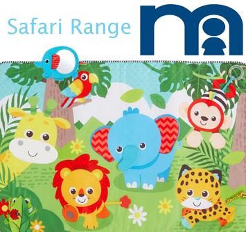 New Safari Range By Mothercare