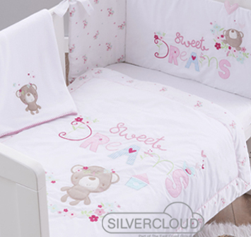 Stunning Silvercloud Nursery Furnishing Sets